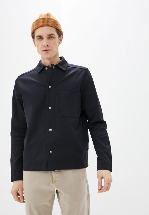 мужская рубашка marc o'polo, черная