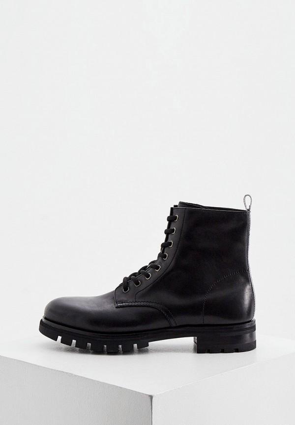 мужские ботинки barracuda, черные