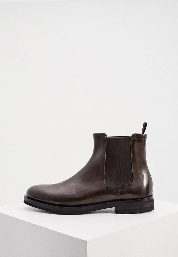 мужские ботинки fabi, коричневые