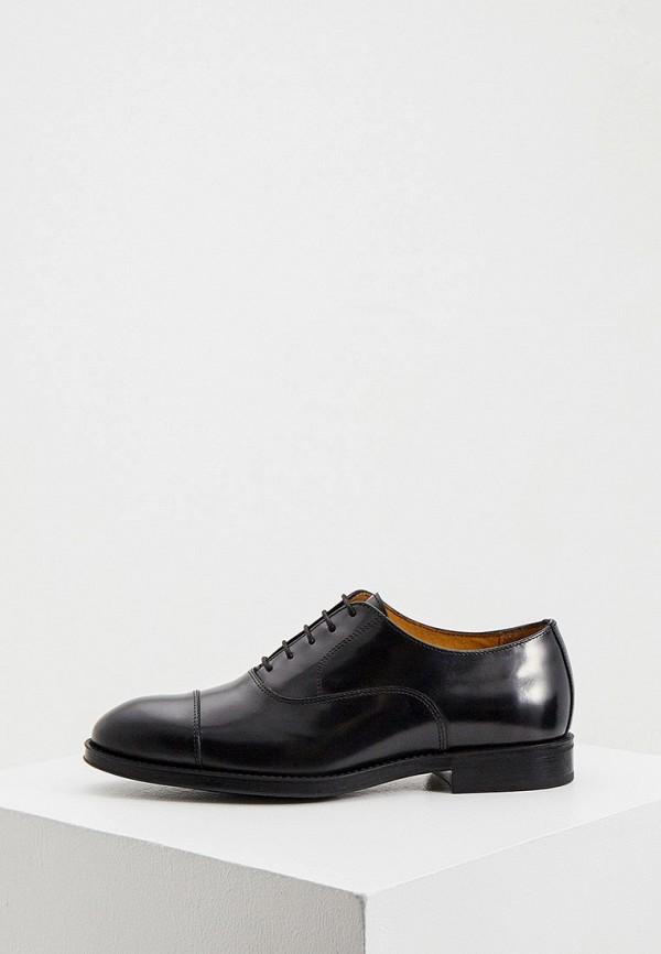 мужские туфли a.testoni, черные