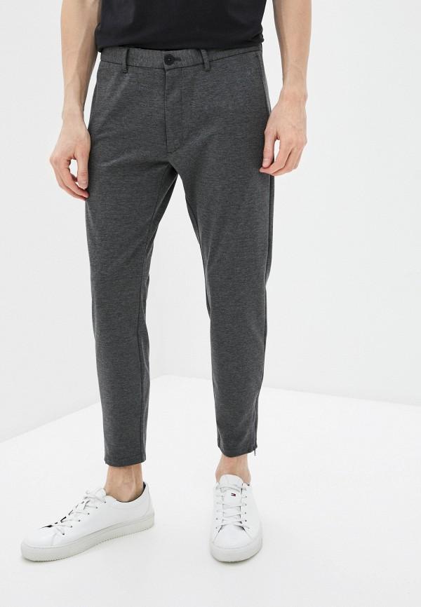 мужские повседневные брюки marc o'polo denim, серые