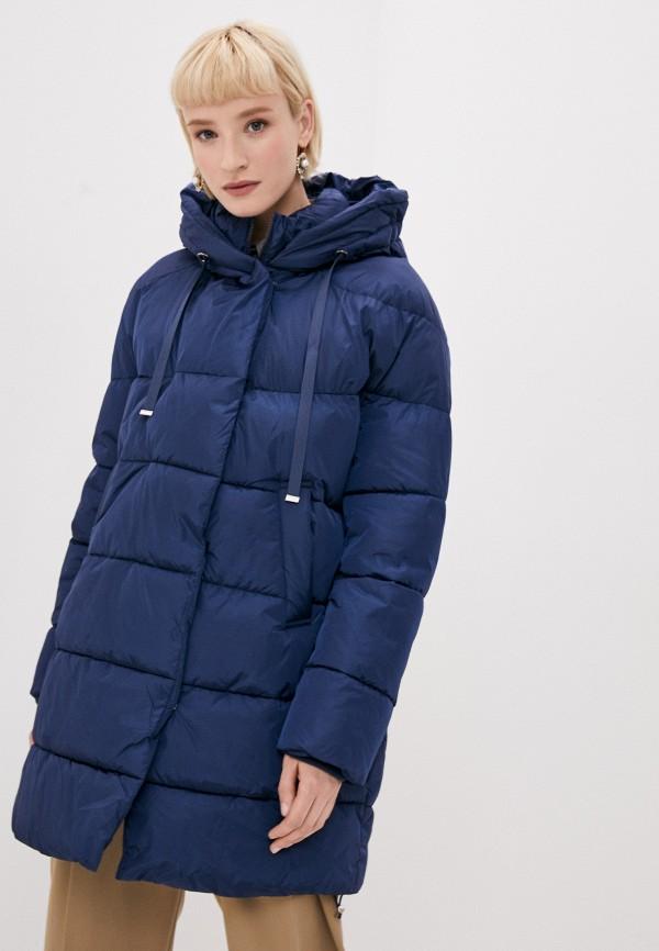 женская куртка tantra, синяя