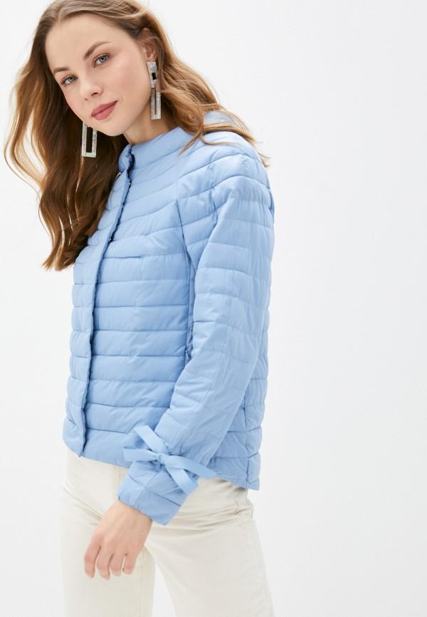 женская куртка tantra, голубая