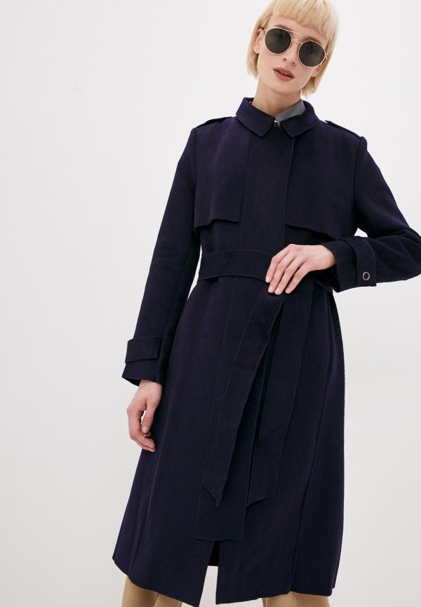 женское пальто tantra, синее