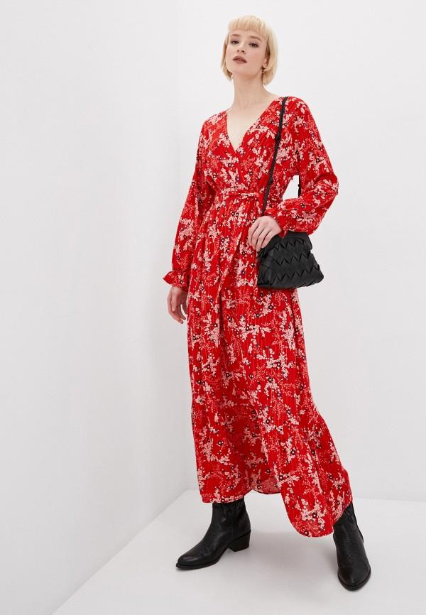 женское повседневные платье tantra, красное