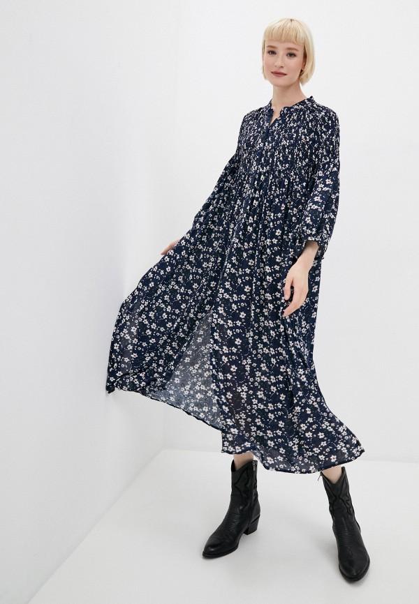 женское повседневные платье tantra, синее