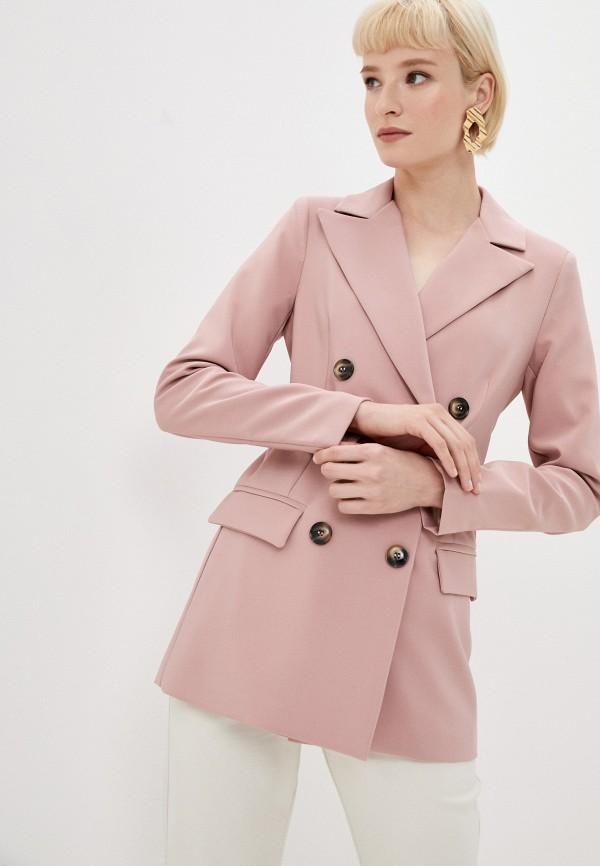 женский пиджак tantra, розовый