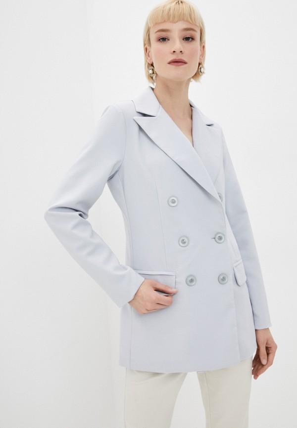 женский пиджак tantra, серый