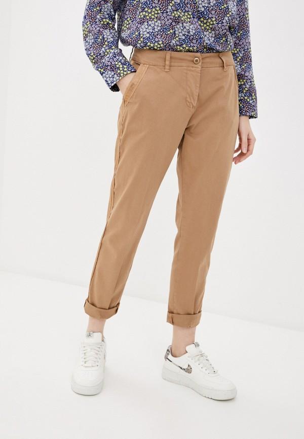 женские повседневные брюки tantra, коричневые