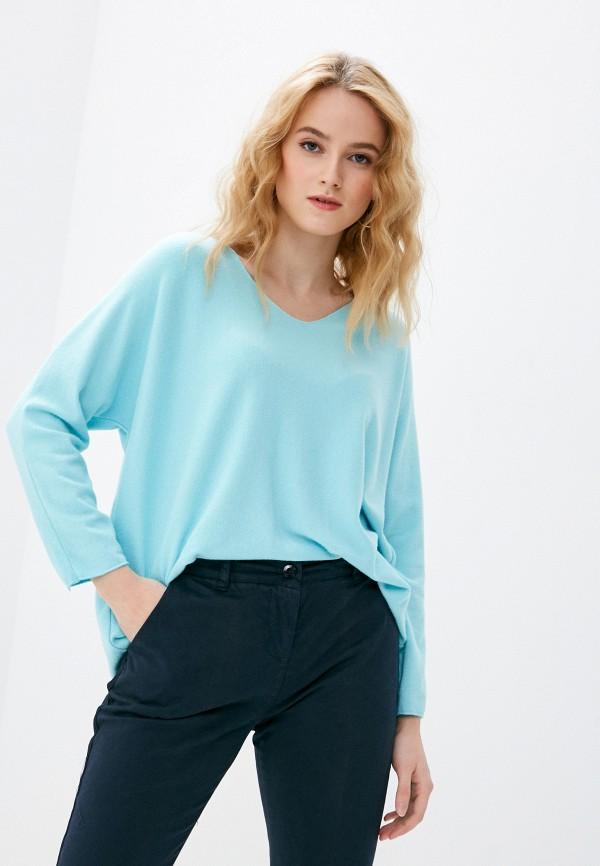 женский пуловер tantra, голубой