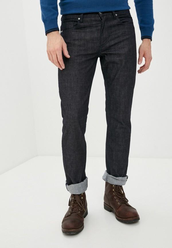 мужские прямые джинсы daniel hechter, черные