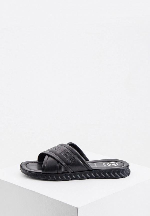 мужские сандалии bogner, черные