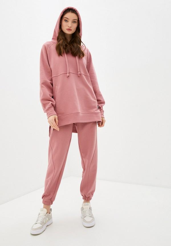женский спортивный костюм sitlly, розовый