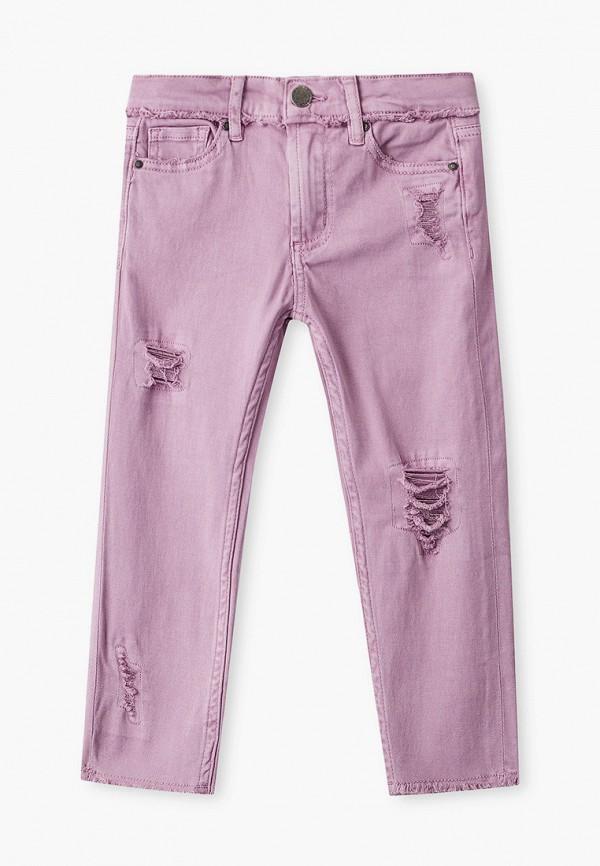 брюки cotton on для девочки, фиолетовые