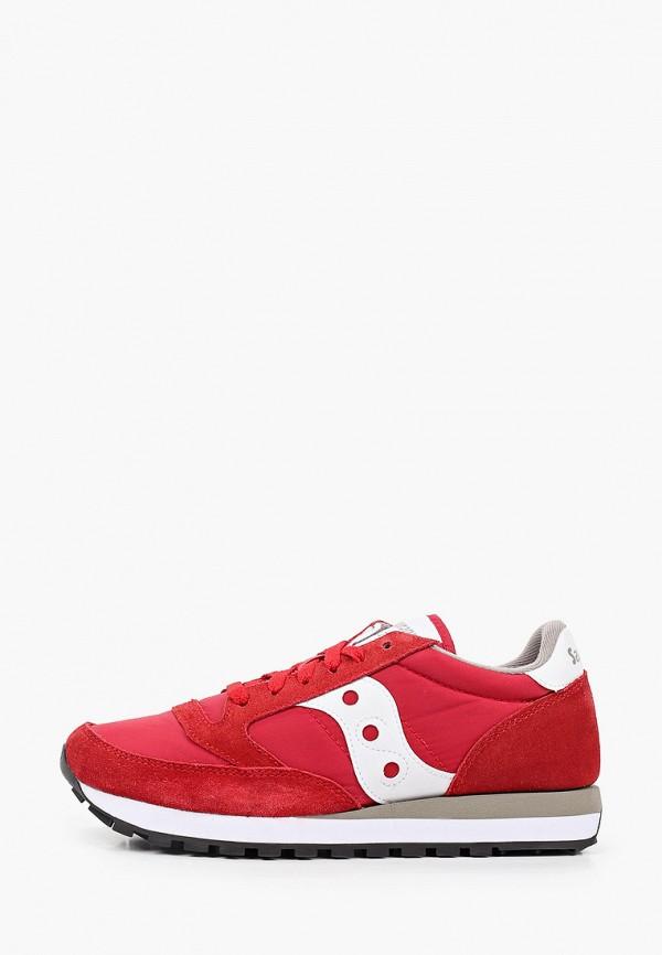 женские кроссовки saucony, красные