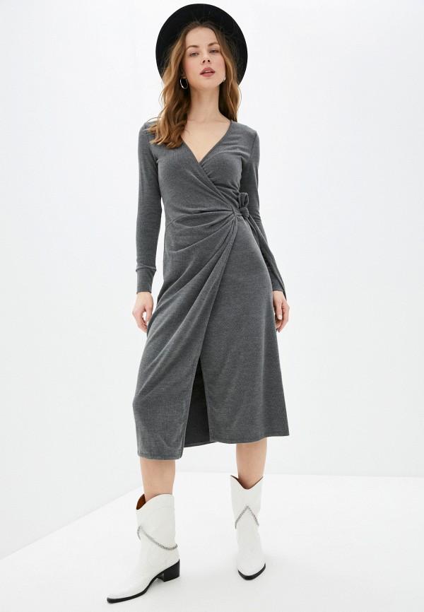 женское платье topshop, серое