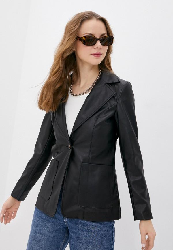 женский пиджак topshop, черный