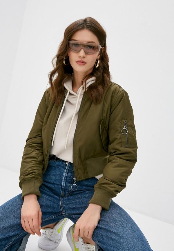 женская куртка topshop, хаки