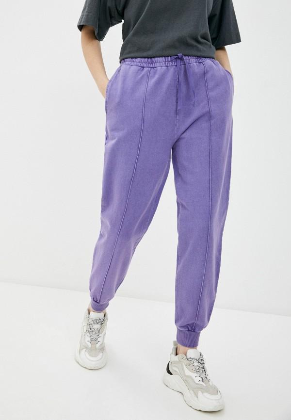 женские спортивные брюки topshop, фиолетовые