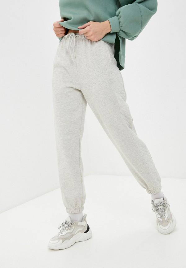 женские спортивные брюки topshop, бежевые