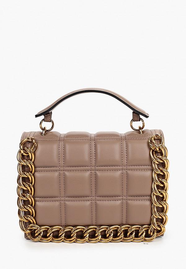 женская сумка topshop, коричневая