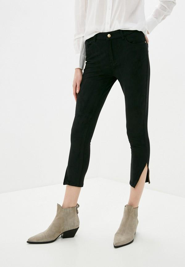 женские повседневные брюки zabaione, черные