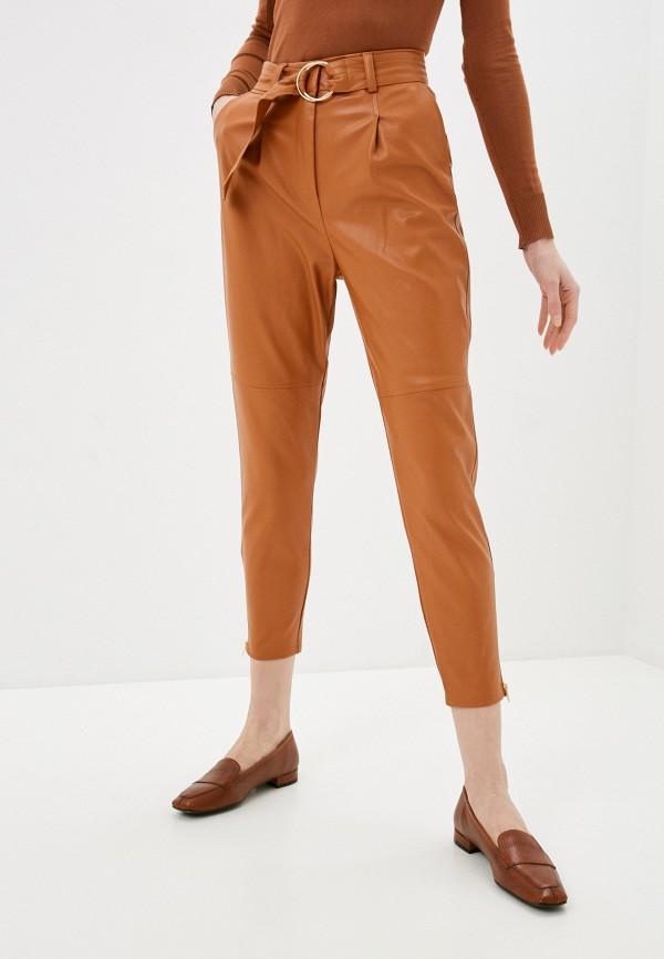 женские брюки zabaione, коричневые