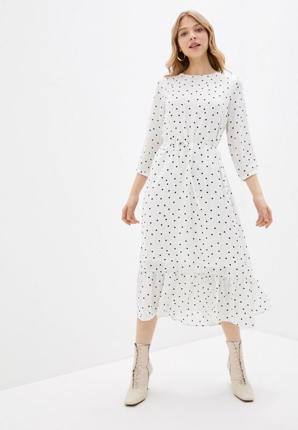 женское повседневные платье vila, белое