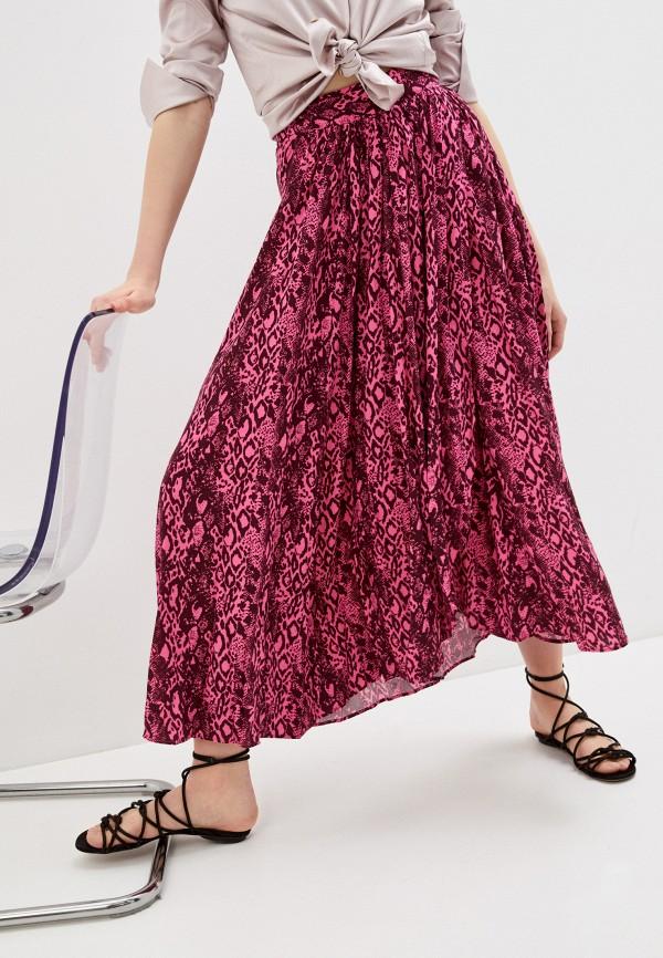 женская юбка-трапеции maaji, розовая