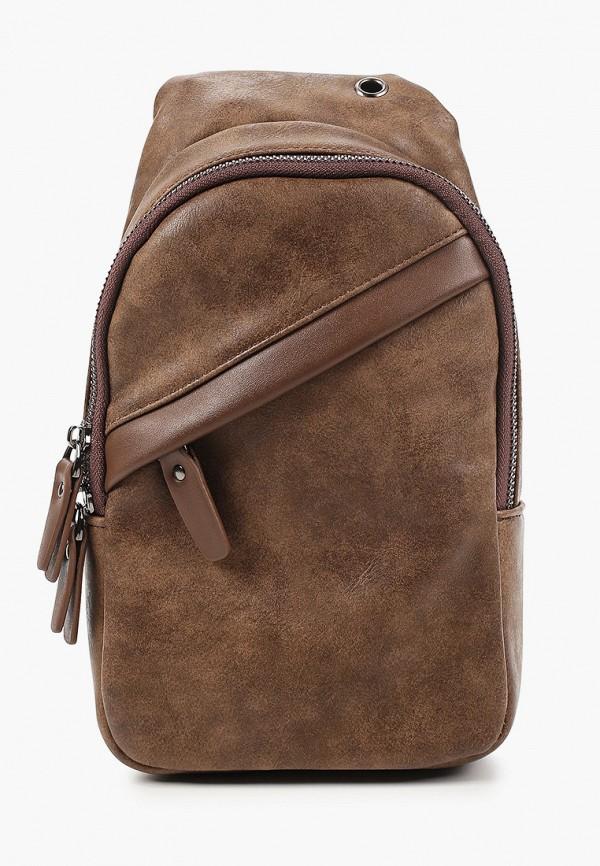 мужская сумка polar, коричневая