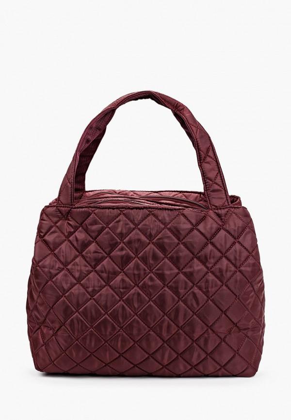 женская сумка polar, бордовая