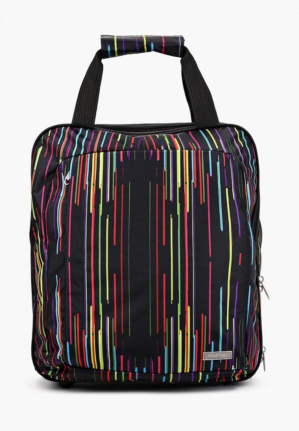 женский чемодан polar, разноцветный