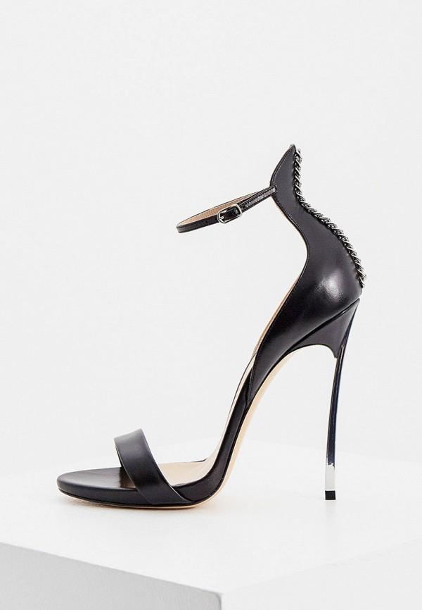женские босоножки casadei, черные