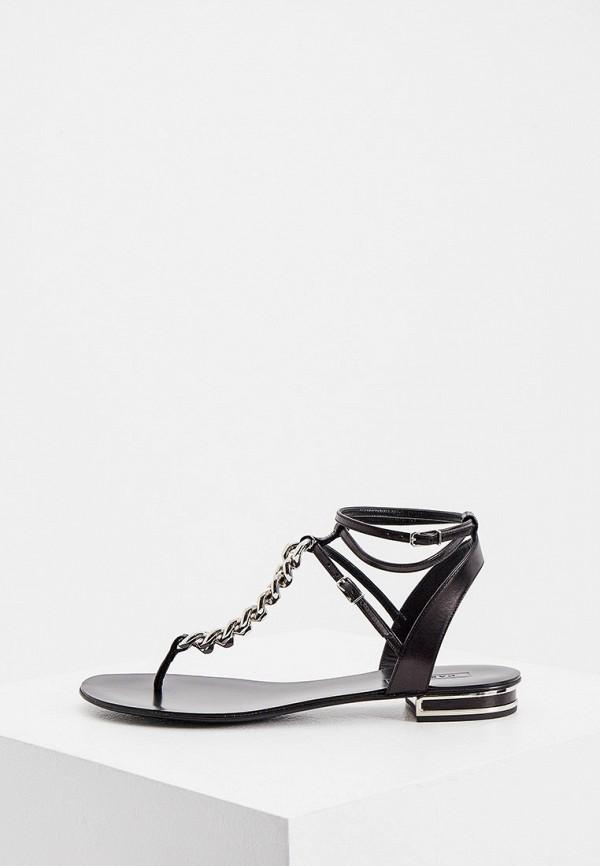 женские сандалии casadei, черные