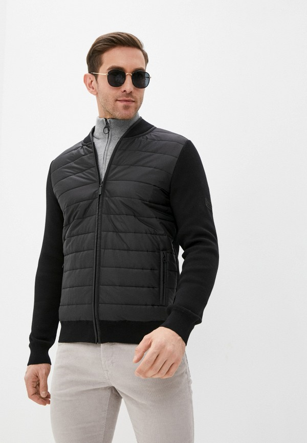 мужская куртка barbour, черная
