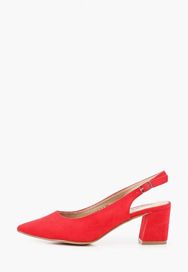 женские туфли bona mente, красные