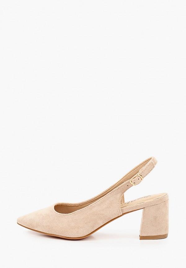 женские туфли bona mente, бежевые