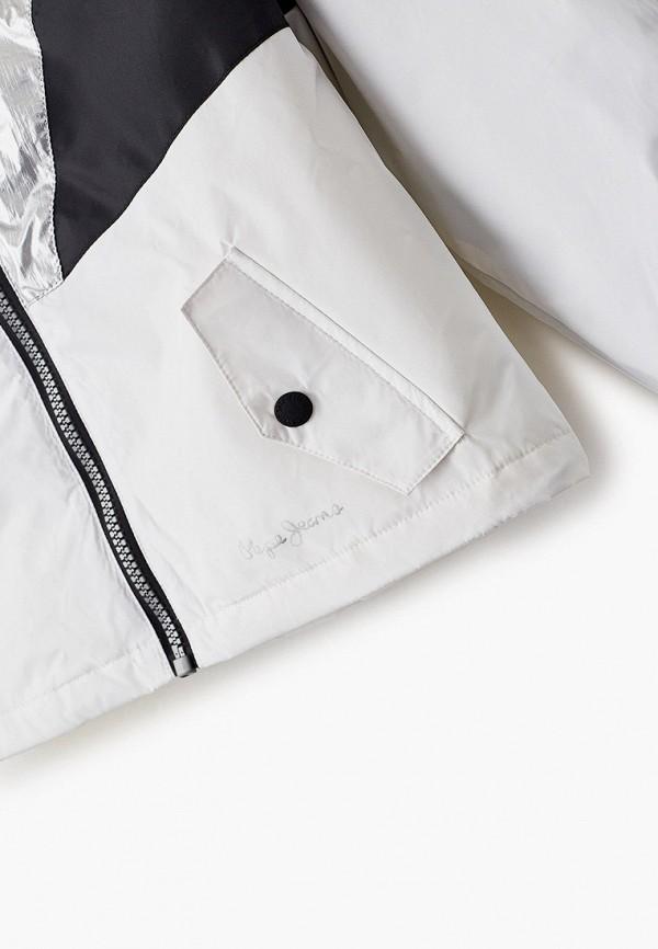 Куртка для девочки утепленная Pepe Jeans PG400987 Фото 3
