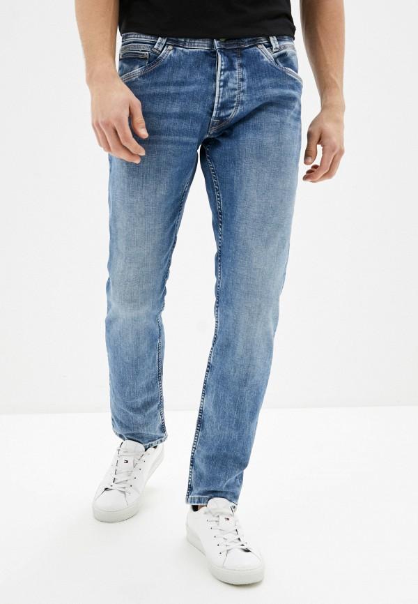 мужские джинсы pepe jeans london, синие