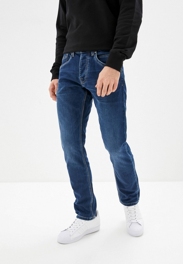 мужские зауженные джинсы pepe jeans london