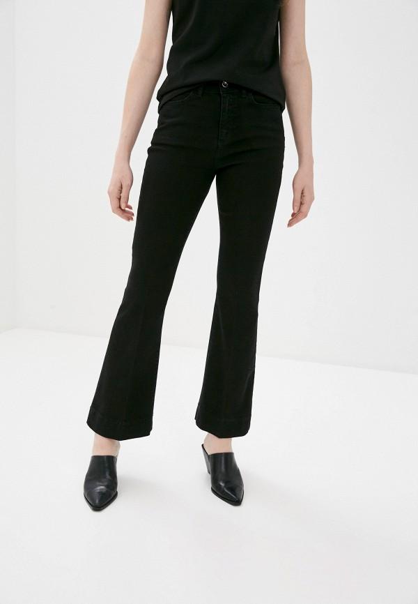 женские джинсы клеш rinascimento, черные