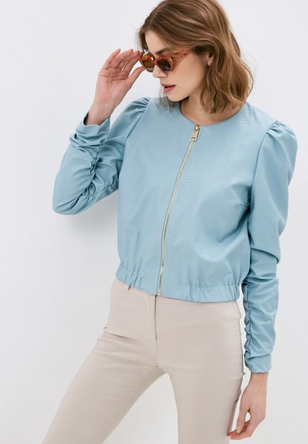 женская куртка rinascimento, бирюзовая