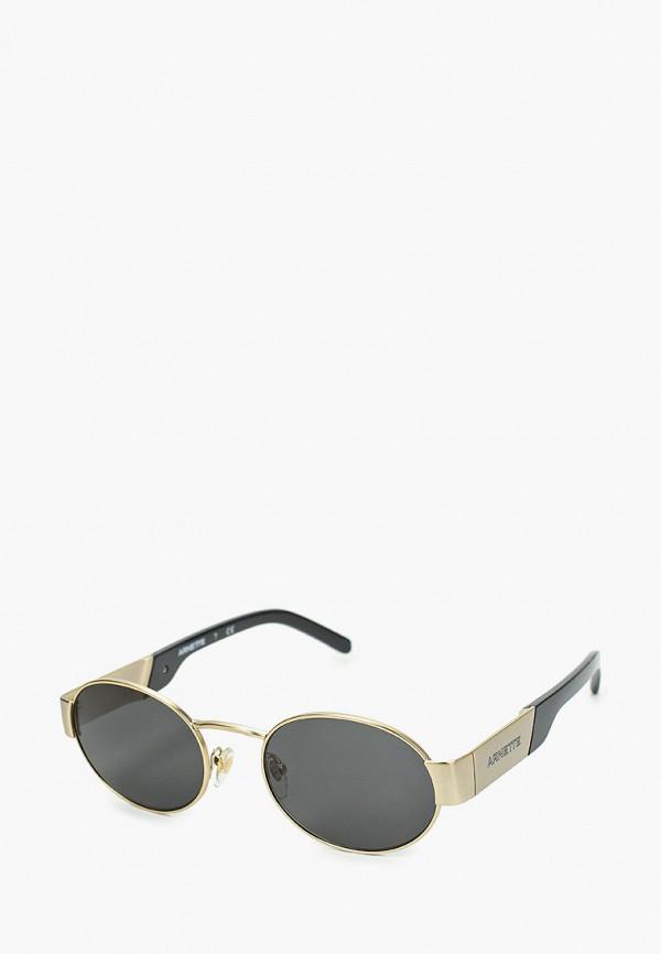 мужские солнцезащитные очки arnette, золотые