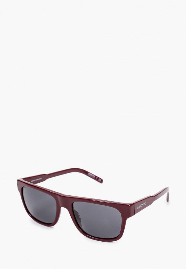 мужские солнцезащитные очки arnette, бордовые