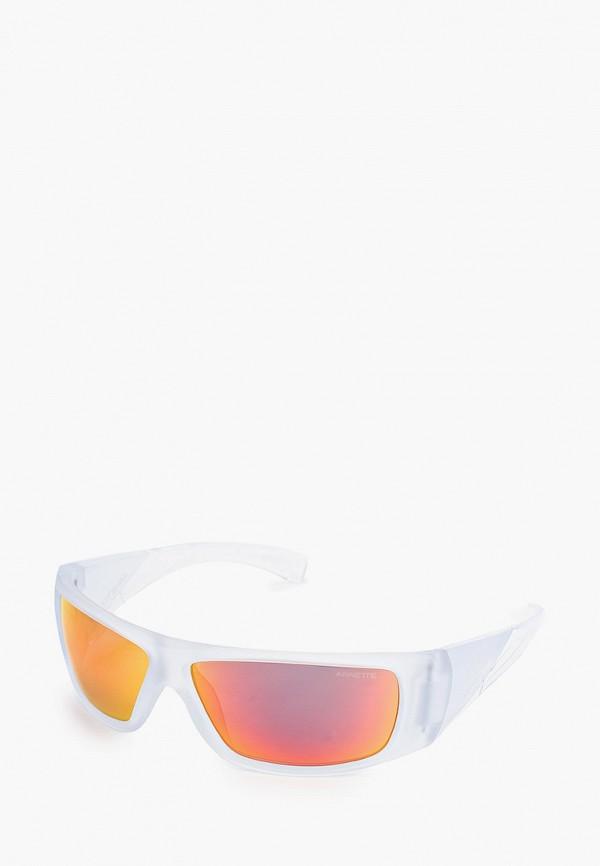 мужские солнцезащитные очки arnette, белые