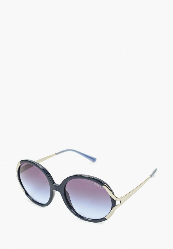 женские круглые солнцезащитные очки vogue® eyewear, синие