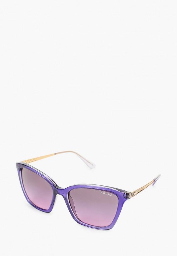 женские солнцезащитные очки кошачьи глаза vogue® eyewear, фиолетовые