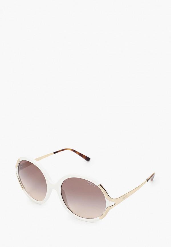 женские круглые солнцезащитные очки vogue® eyewear, белые