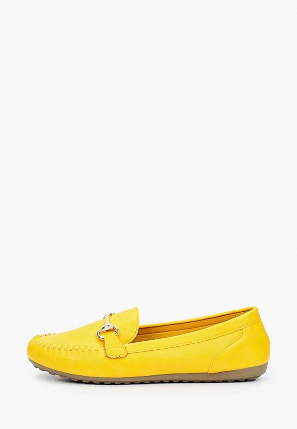женские мокасины exquily, желтые