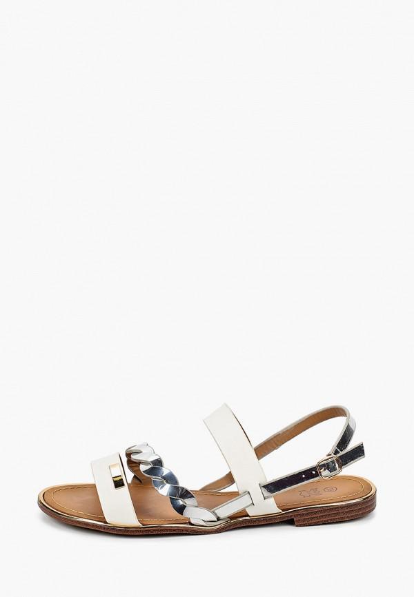 женские сандалии stephan, белые